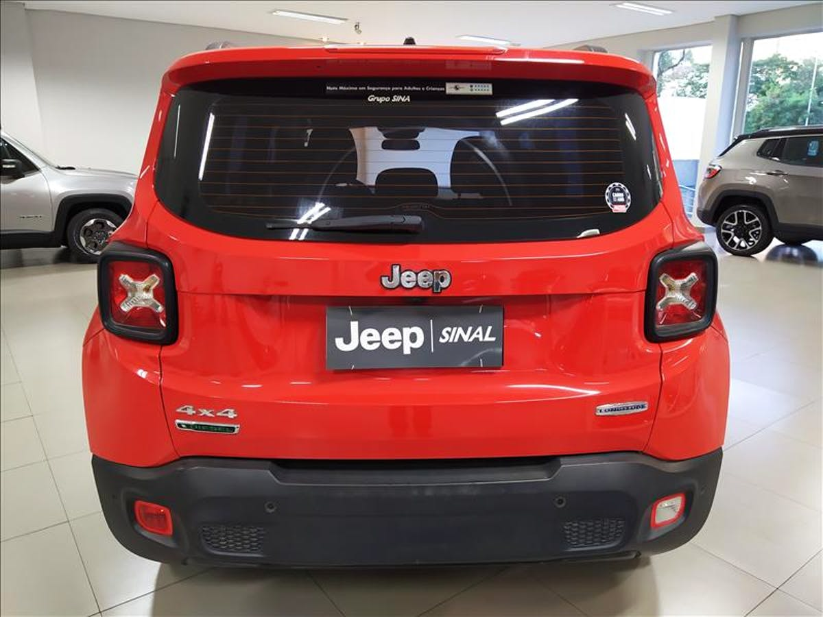 JEEP RENEGADE 2.0 16V Turbo Longitude 4X4 2016/2016 - Foto 8