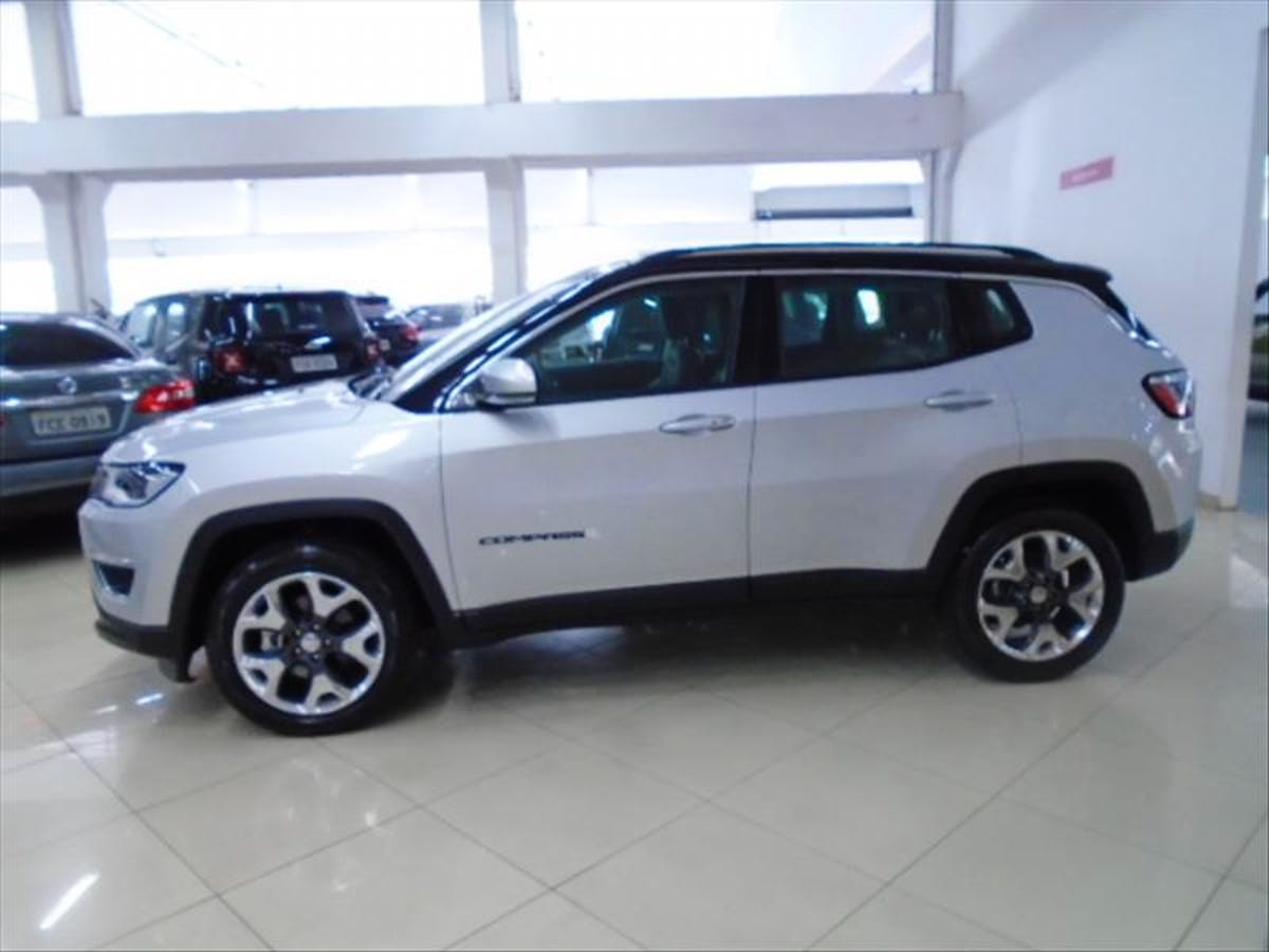 JEEP COMPASS 2.0 16V Limited 2018/2018 - Foto 4