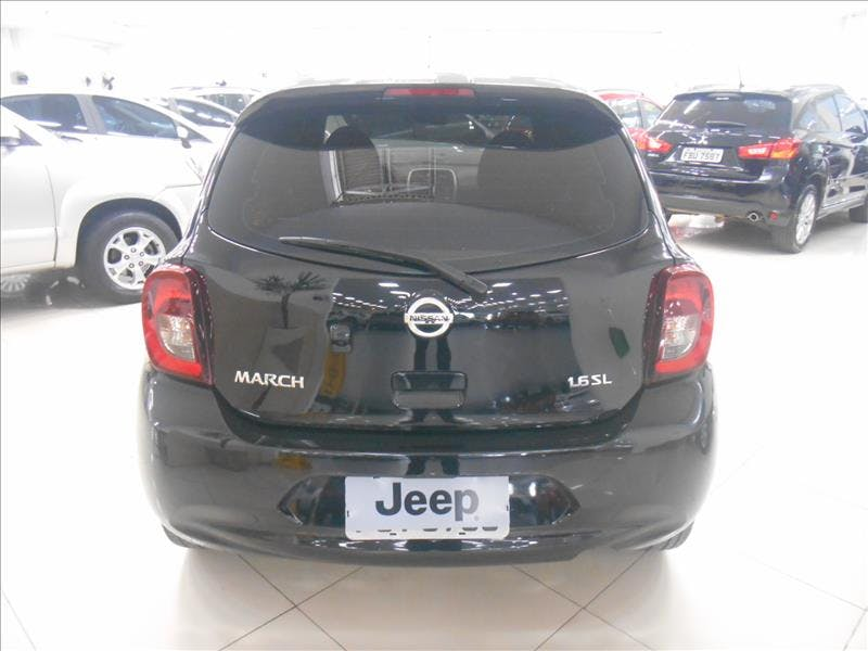 NISSAN MARCH 1.6 SL 16V 2014/2015 - Foto 2