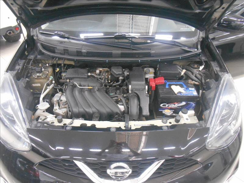 NISSAN MARCH 1.6 SL 16V 2014/2015 - Foto 7