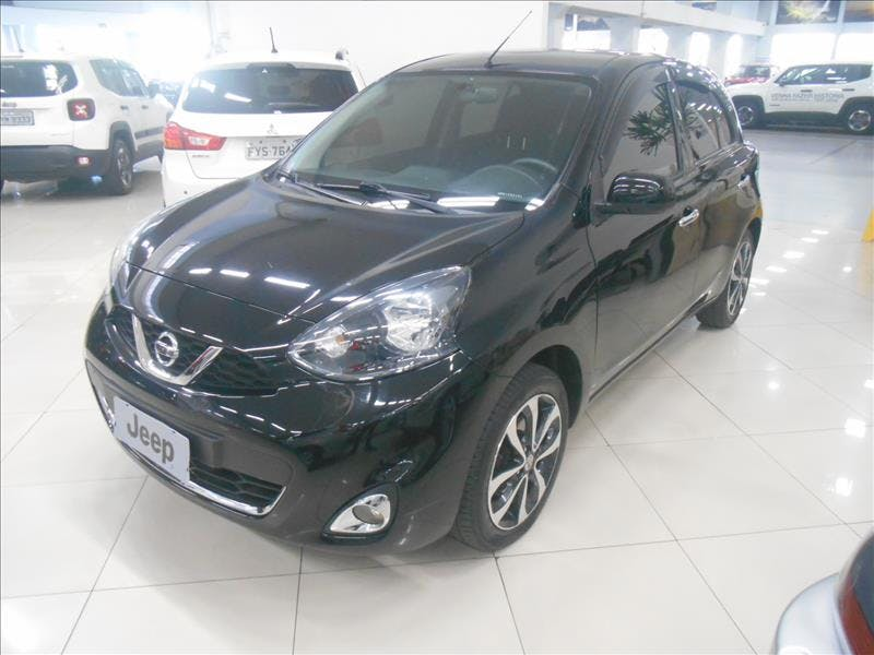NISSAN MARCH 1.6 SL 16V 2014/2015 - Foto 8