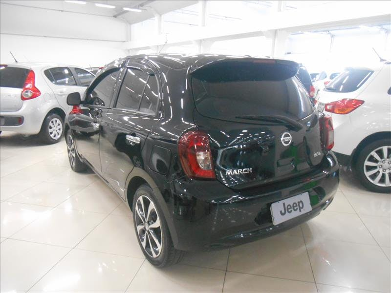 NISSAN MARCH 1.6 SL 16V 2014/2015 - Foto 11