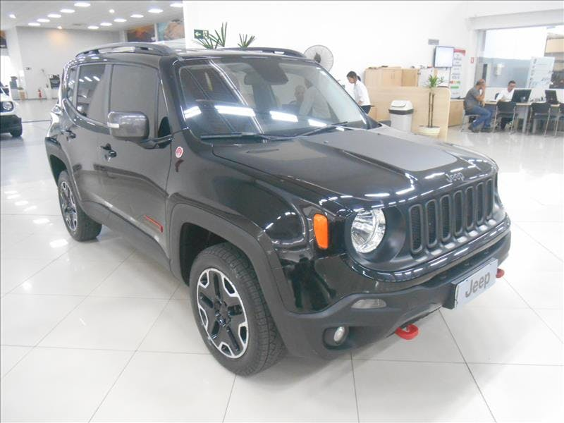 JEEP RENEGADE 2.0 16V Turbo Trailhawk 4X4 2016/2016 - Foto 8