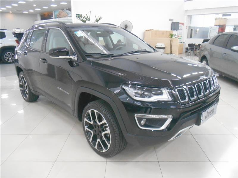 JEEP COMPASS 2.0 16V Limited 4X4 2017/2018 - Foto 9