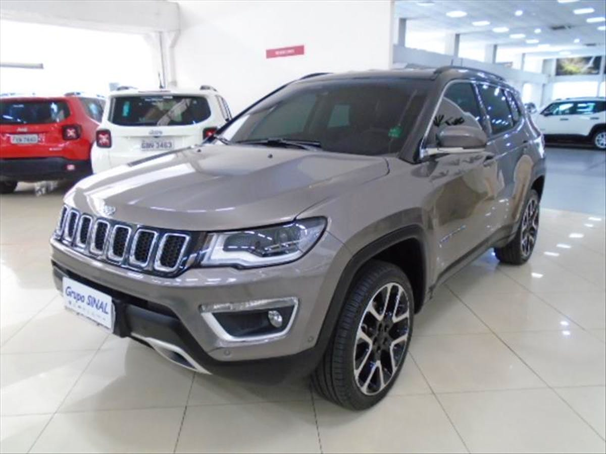 JEEP COMPASS 2.0 16V Limited 4X4 2018/2019 - Foto 2