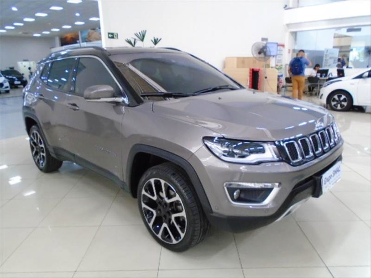 JEEP COMPASS 2.0 16V Limited 4X4 2018/2019 - Foto 3