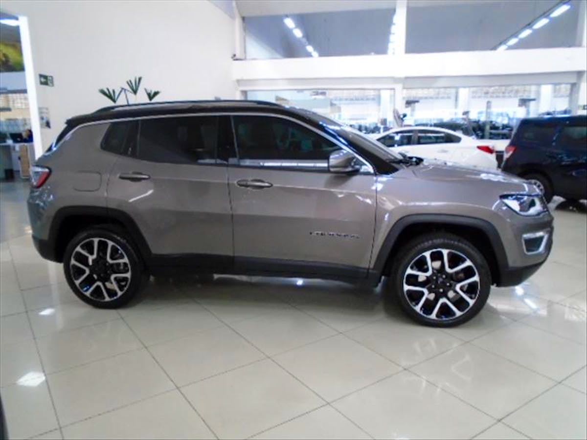 JEEP COMPASS 2.0 16V Limited 4X4 2018/2019 - Foto 5