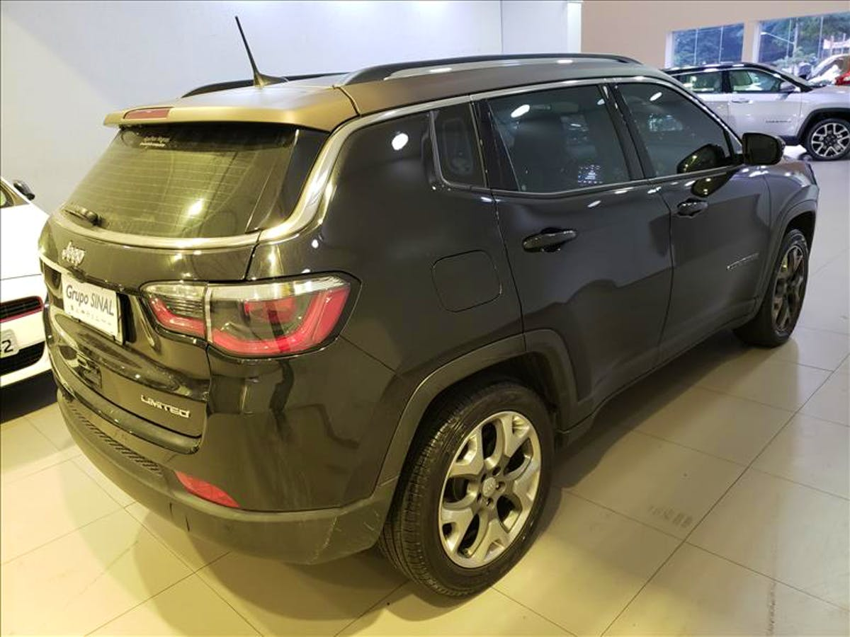 JEEP COMPASS 2.0 16V Limited 2016/2017 - Foto 11