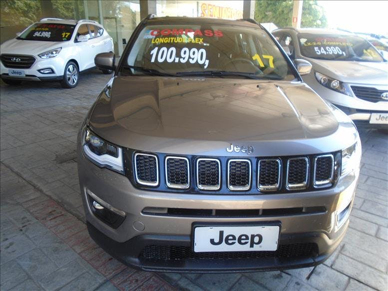 JEEP COMPASS 2.0 16V Longitude 2017/2017