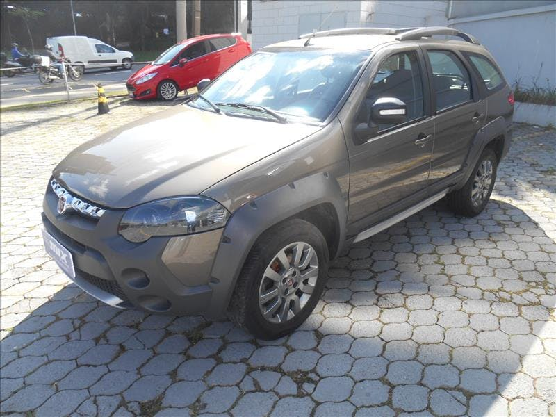 FIAT PALIO 1.8 MPI Adventure Weekend 16V 2016/2016