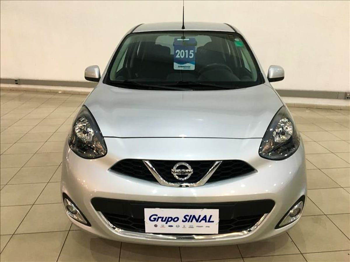 NISSAN MARCH 1.6 SL 16V 2015/2015
