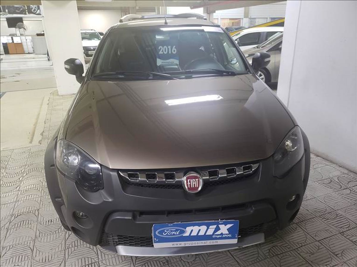 FIAT PALIO 1.8 MPI Adventure Weekend 16V 2015/2016 - Foto 1