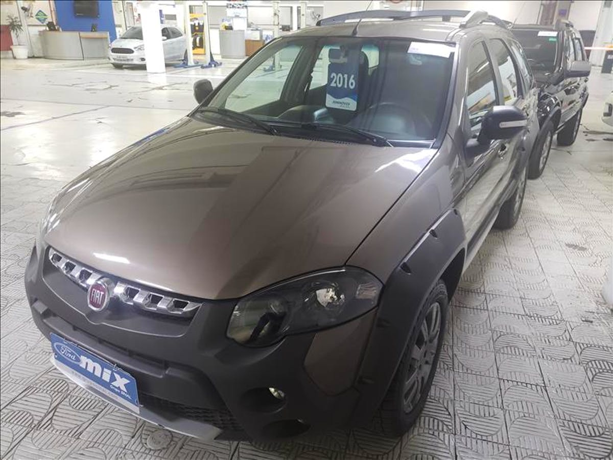 FIAT PALIO 1.8 MPI Adventure Weekend 16V 2015/2016 - Foto 2