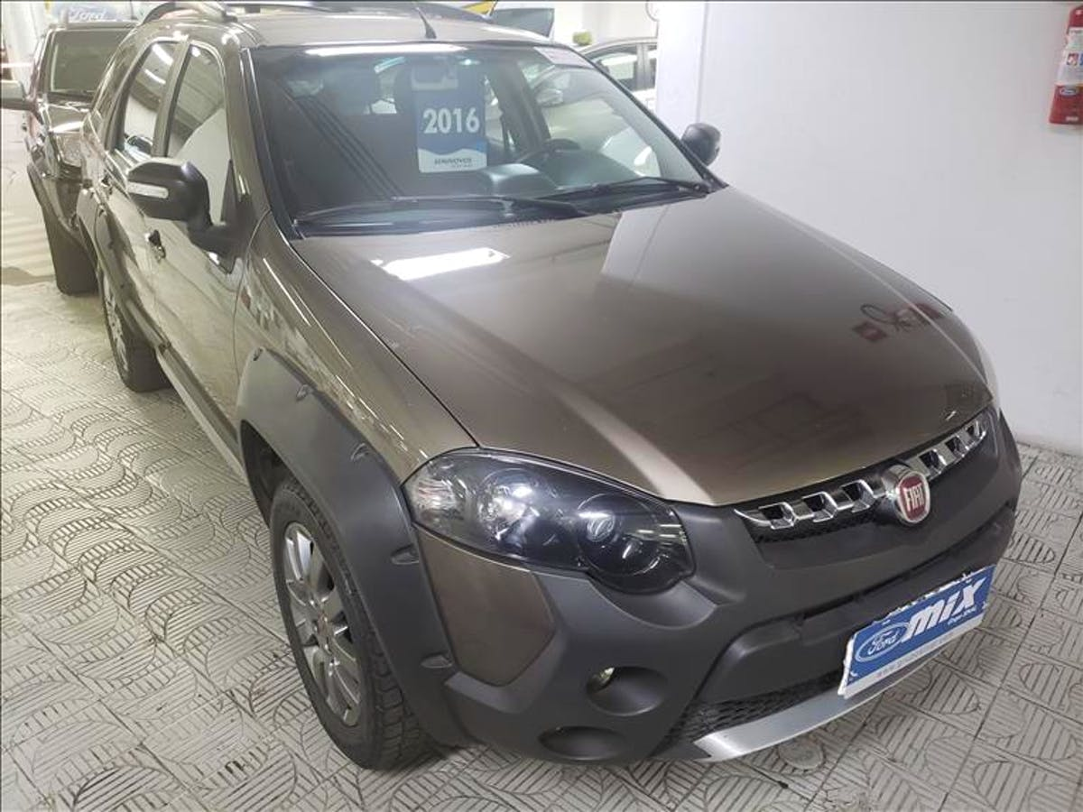 FIAT PALIO 1.8 MPI Adventure Weekend 16V 2015/2016 - Foto 3